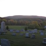 Big rolling hills seen from Cressona Cemetery