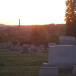 Morning light in Cressona Cemetery