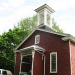 A house church (a old country church building that became a house)