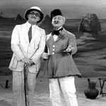 Early comedy duo (Ever heard of Groucho Marx?)