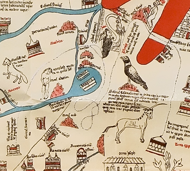 Eps 111: The Adventurous World of Medieval Maps; Guest Lisa Deam, PhD